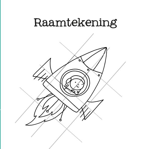 raamtekening raket-14